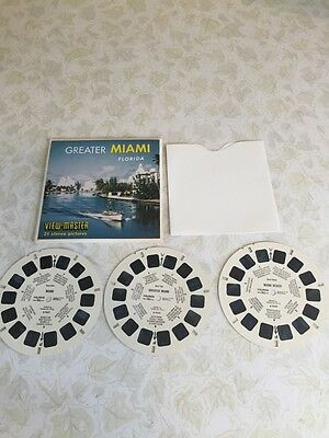 Viewmaster Sawyers A963 GREATER MIAMI FLORIDA USA