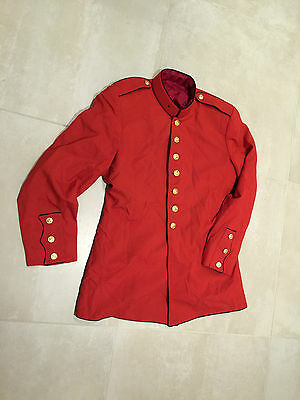 USMC drum and bugle corps ceremonial   jacket, used excellent , large