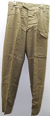 British wool P49 Battledress Pants Trousers size 18 w 38-39 L34.5 each M9626