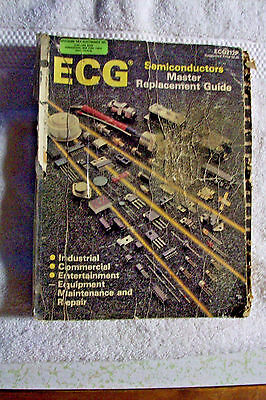 1989 ECG Semiconductor Replacement Guide.  Much used condition/great reference.