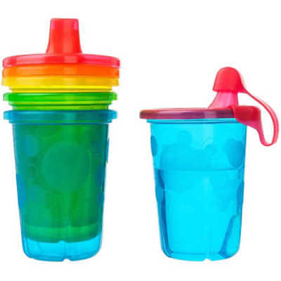 NEW The First Years Take & Toss 10 oz. Spill-Proof Sippy Cups 4-Pack