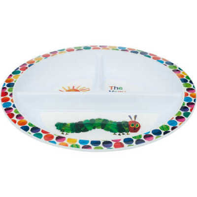 NEW The Very Hungry Caterpillar Sectioned Plate