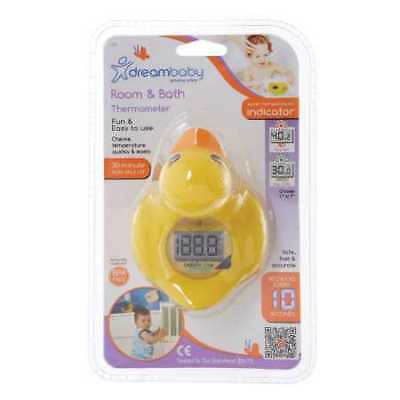 NEW Dreambaby Duck Bath & Room Thermometer