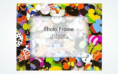 Disney Parks Character Icons Resin Picture Photo Frame 4x6 or 5x7 New