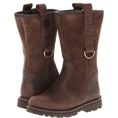 6ba21ba01e78 Timberland Toddler Earthkeepers Asphalt Trail Tall Brown Suede Boot 4.5 M  Unisex