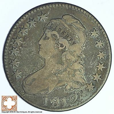 1812 Capped Busted Half Dollar *XB71