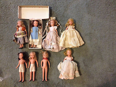 Vintage 8  K & H USA  and Hollywood Bisque Dolls - Three dressed