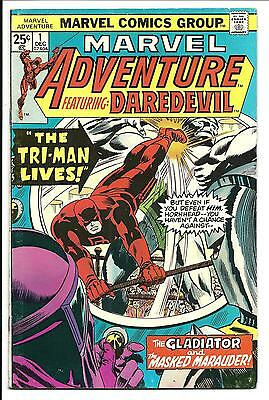 Marvel Adventure: Daredevil # 1 (Dec 1975), Fn/vf