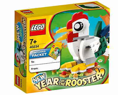 LEGO SEASONAL 40234 - YEAR OF THE ROOSTER - CNY Limited Edition - NEW IN STOCK