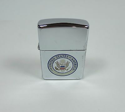 Zippo Vintage Seal of the United States of America FACTORY SEALED 1995 NEW Zippo