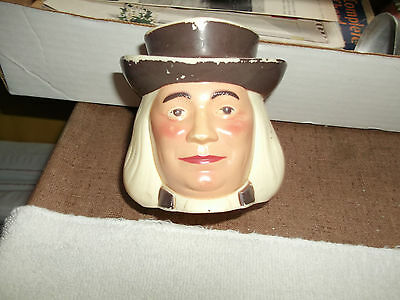 Collectible Vintage Cereal Advertising - Quaker Oats Man Mug - Iconic Logo