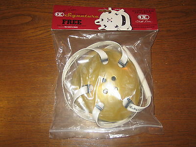 CK Cliff Keen Gold Signature Athletic Wrestling Headgear E58 New in Package
