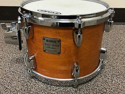 "Yamaha Maple Custom Absolute 10"" x 7"" Rack Tom in Vintage Natural finish"