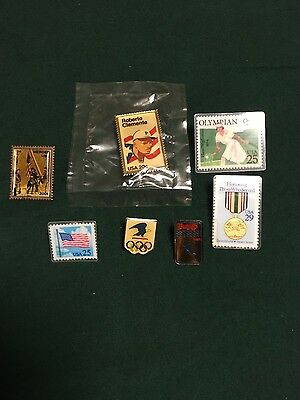 7-United States Postal Service Commemorative Pins