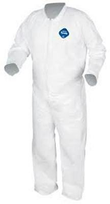 DuPont Tyvek TY120S-XL Coverall Plain Suit-FREE SHIPPING
