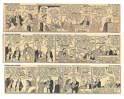 TOOTS AND CASPER (1935) - 289 Daily Comics - by JIMMY MURPHY