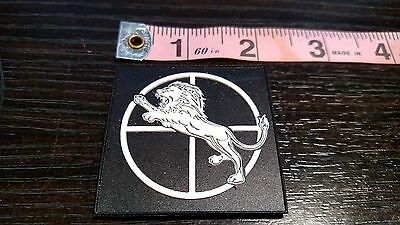 ARMALITE AR 10 Rubber HOOk/LOOP PATCH 2 INCH FREE SHIPPING