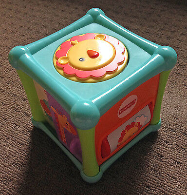 Fisher Price Baby Activity Cube