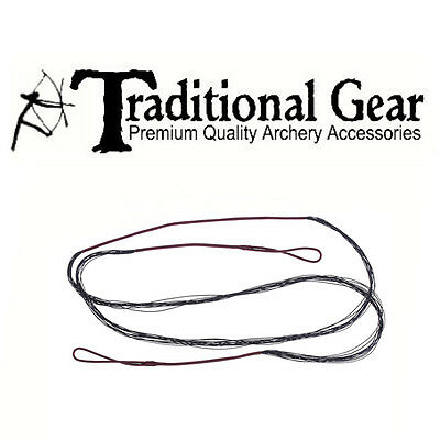 Accessories Traditional Replacement Bowstring 12 Strand Long Bow 57'' Length