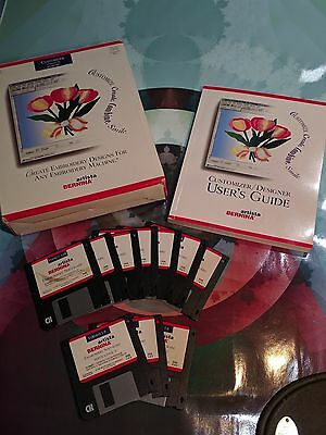 Bernina Artista Embroidery Customizer Designer V 1.0k & 2.0 Software CD + Floppy