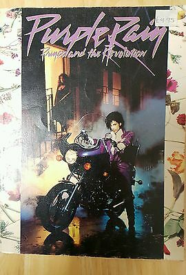 Prince Purple Rain song book