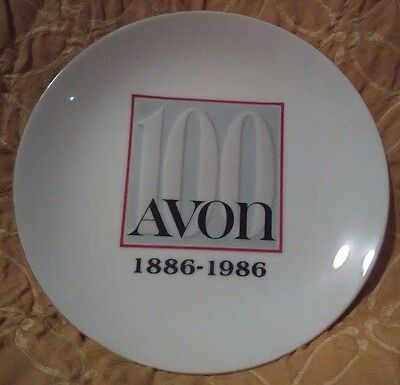 Vintage Avon 100 Anniversary 1886-1986 Collector Plate Campaign 26, 1985