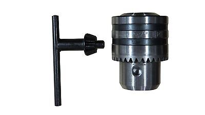 3 -16mm Drill Chuck with Key for Drill Press Bench Drill MT2 B16
