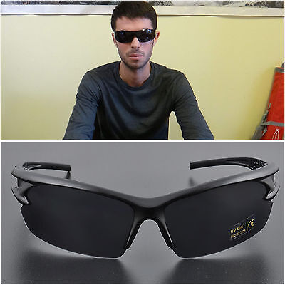 UV400 Windproof Men's Glasses Aviator Driving Goggles Outdoor Cycling Sunglasses