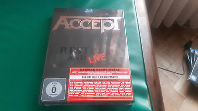Accept - Restless and live - Blu-Ray+2 CD - NEW