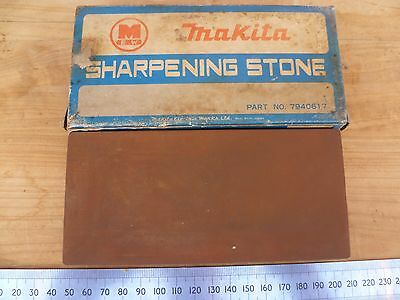 Vintage Old Makita Brand,  Sharpening Stone For Plane Blades, Old Tool (D78)