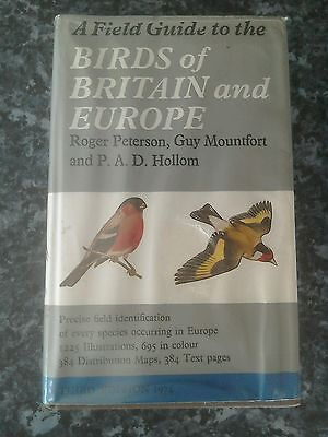 A field guide to the birds of Britain and Europe book vintage