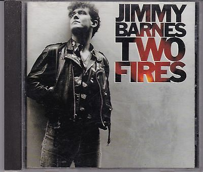 Jimmy Barnes - Two Fires **1990 Australian CD Album**VG Cond