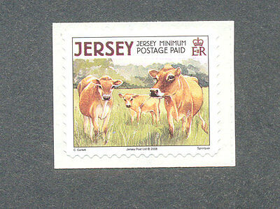 Cows-Cattle--Farm Animals-Jersey mnh single