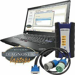 """Universal Diesel Diagnostic Laptop - (NEW)  """"Ultra Fast""""  with Nexiq USB Link 2"""