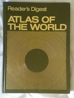 Readers Digest Atlas of The World Hard Cover Hardcover