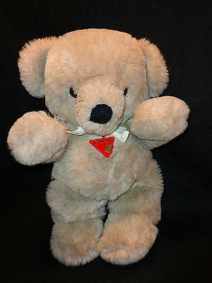 DAKIN CUDDLES 1979 Teddy Bear Large Plush 20 Inches Tall EXC. Cond ! Light Grey