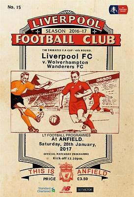 2016/17 - LIVERPOOL v WOLVES (FA CUP - 28th January 2017)