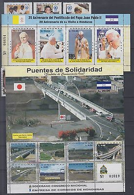 Honduras Mint NH Complete Year Unit for 2003 Sc C1137-1154