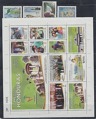Honduras Mint NH Complete Year Unit for 2002 Sc C1113-1136