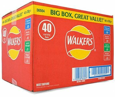 Walkers 40er Variety Box 40 x 25g