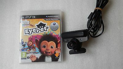 Ps3 Eyepet Ps3 Game & Ps3 Move Eye Camera For Ps3