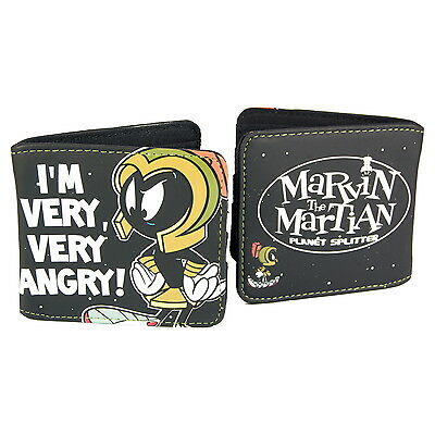 NEW OFFICIAL Looney Tunes Marvin the Martian Classic Vintage Card Coin Wallet