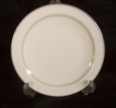 """Restaurant Supplies 10 CORNING WARE PYROCERAM PLATES 7-1/8"""" White with gray, bl"""