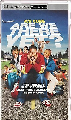 ��  ●● ARE WE THERE YET? ●● UMD Movie  - Ice Cube, Aliesha Allen Comedy for PSP