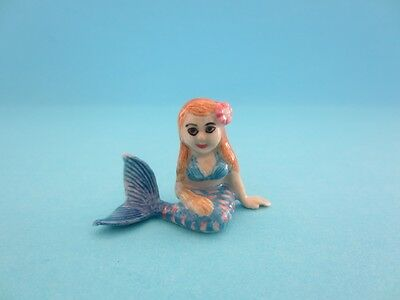 "RETIRED LITTLE CRITTERZ FANTASY & MYTHICAL ""SPRING"" MERMAID CHILD FIGURINE*Mint*"