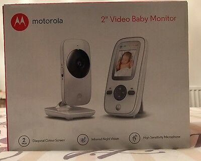 Motorola MBP481 Video Baby Monitor with 2 Inch Display