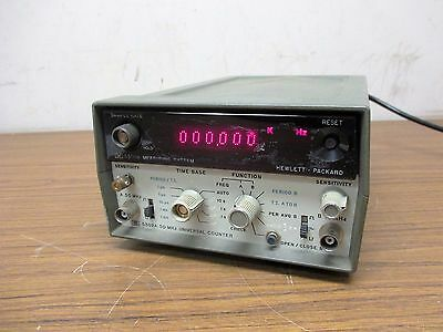 HP Measuring System; Model 5300A / 50MHz Universal Counter; Model: 5302A