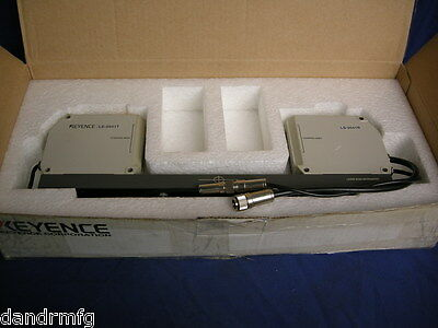 Keyence Ls-5041 Laser Scan Micrometer Heads For Machine Shop Inspection Lab