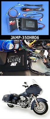 J&M ROKKER XXR 350 Watt 2-Channel Amplifier Kit 06-13 Harley Road Glide FLTR