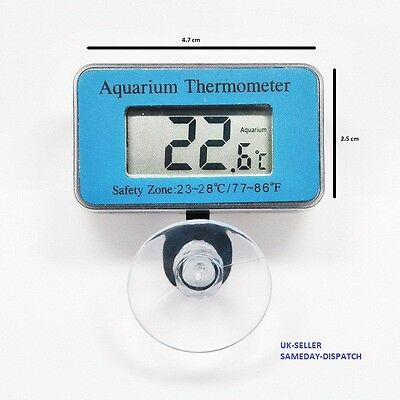 Digital LCD Waterproof Fish Aquarium Water Tank Temperature Thermometer Meter Ne